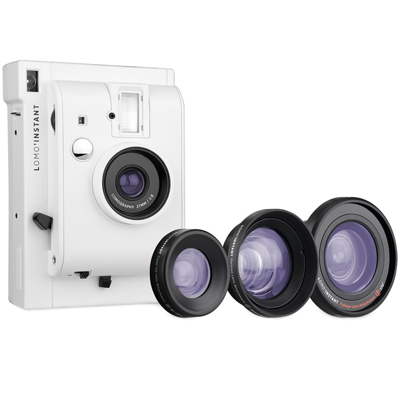 دوربین چاپ سریع لوموگرافی مدل White به همراه سه لنز