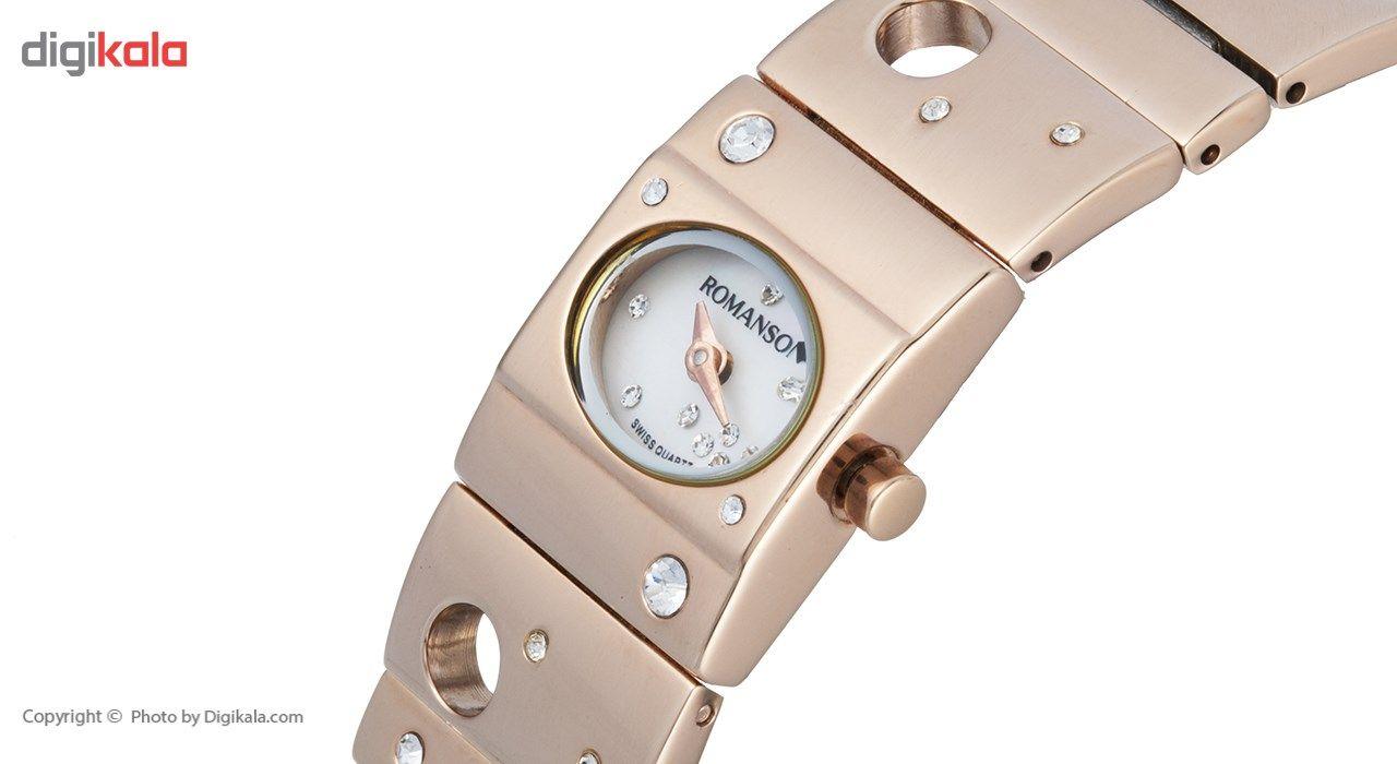 ساعت مچی عقربه ای زنانه رومانسون مدل RM0323TL1RM16R -  - 4