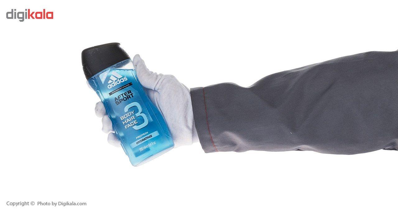 شامپو سر و بدن مردانه آدیداس مدل After Sport حجم 250 میلی لیتر main 1 3