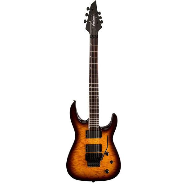 گیتار الکتریک جکسون مدل X Series Soloist SLATXMGQ 3-6 Tobacco Burst
