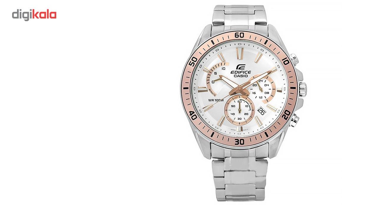 ساعت مچی عقربه ای مردانه کاسیو مدل EFR-552D-7AVUDF              خرید (⭐️⭐️⭐️)