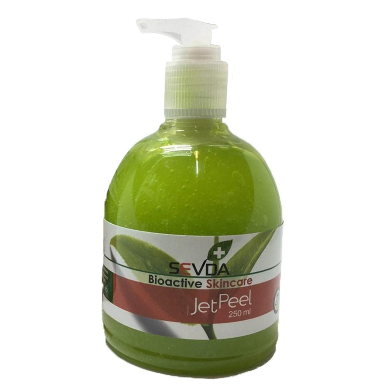 قیمت ماسک صورت چای سبز سودا مدل JET PEEL حجم 250 میلی لیتر