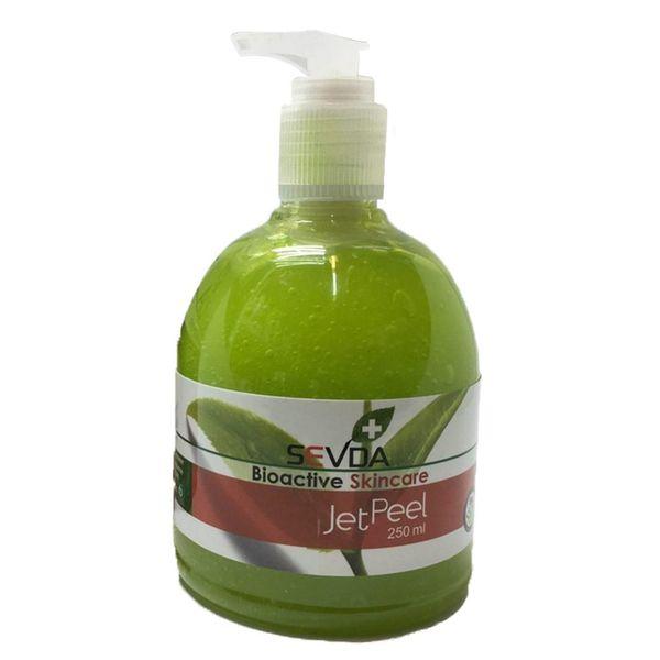 ماسک صورت چای سبز سودا مدل JET PEEL حجم 250 میلی لیتر