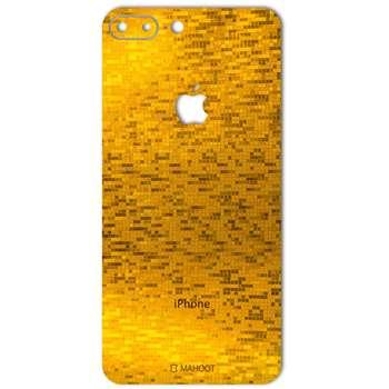 برچسب پوششی ماهوت مدل  Gold-pixel Special مناسب برای گوشی iPhone 7 Plus