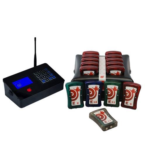 دستگاه فراخوان مشتری نار مدل CP400 بسته 10 عددی