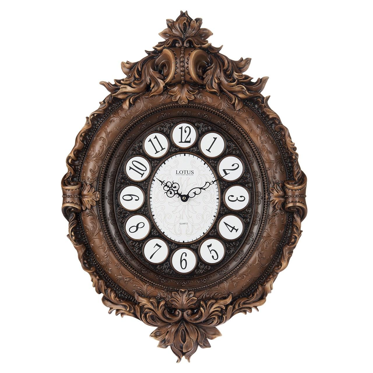 خرید ساعت دیواری لوتوس مدل PH-701-BR