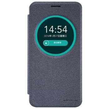 کیف کلاسوری نیلکین مدل New Leather Sparkle مناسب برای گوشی موبایل ایسوس Zenfone Max