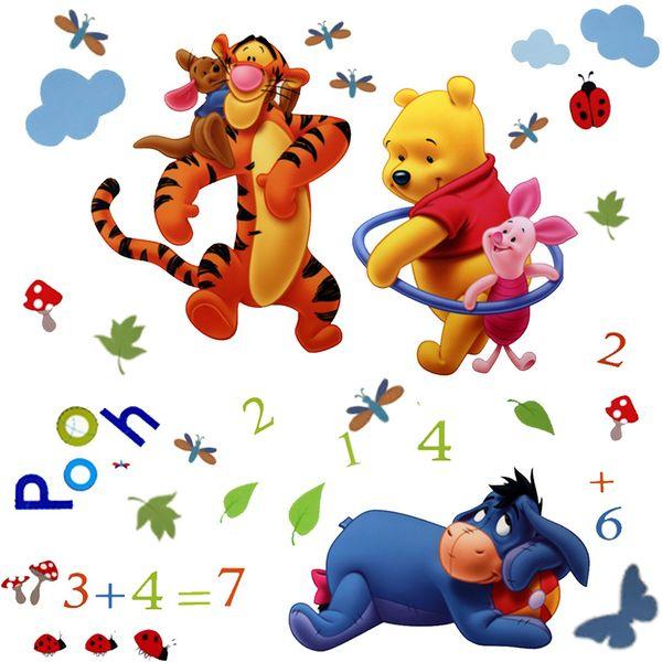 استیکر دکوفان مدل KD Pooh