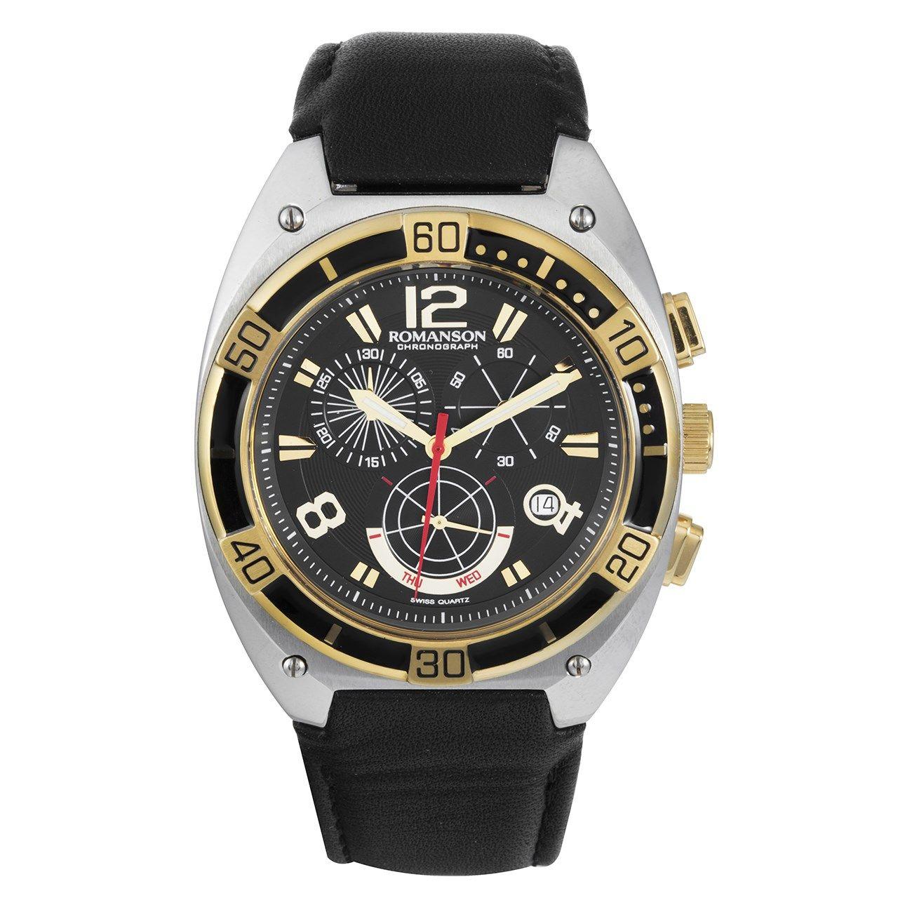 ساعت مچی عقربه ای مردانه رومانسون مدل TL1260HM1CA31G -  - 1