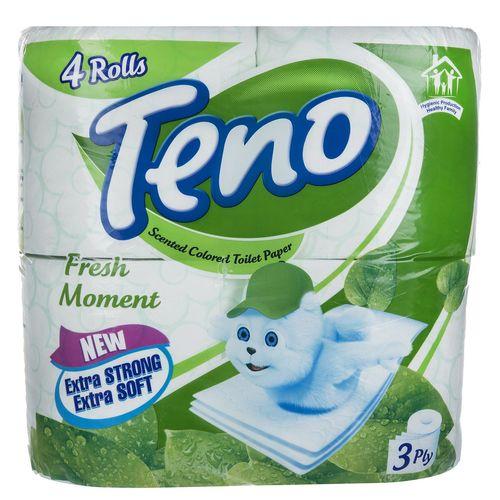 دستمال توالت تنو مدل Fresh Moment بسته 4 عددی