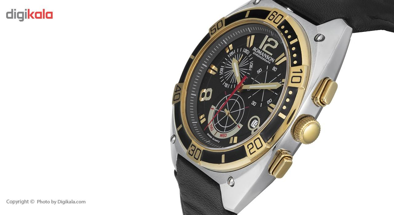 ساعت مچی عقربه ای مردانه رومانسون مدل TL1260HM1CA31G -  - 4