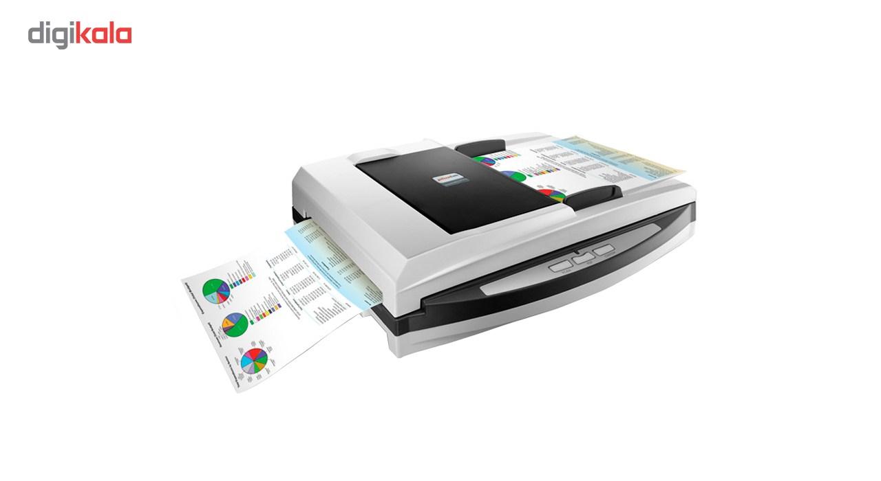 اسکنر حرفه ای اسناد پلاس تک مدل SmartOffice PL4080