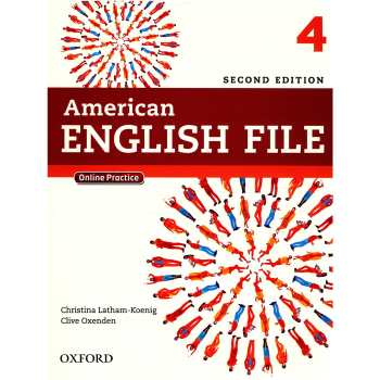 کتاب 4 American English File اثر کریستینا لاثام - دو جلدی