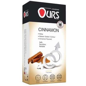 کاندوم اورز مدل Cinnamon بسته 12 عددی