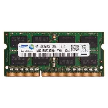 رم لپ تاپ سامسونگ مدل DDR3L 12800S MHz ظرفیت 4 گیگابایت