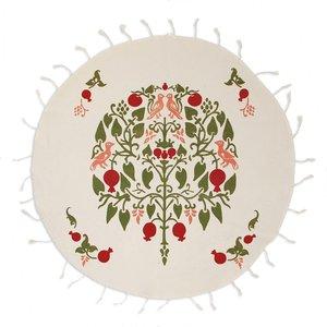 رومیزی چاپ دستی گالری گدار مدل درخت انار