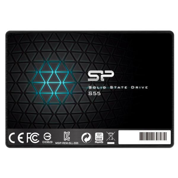 اس اس دی اینترنال SATA3.0 سیلیکون پاور مدل Slim S55 ظرفیت 240 گیگابایت