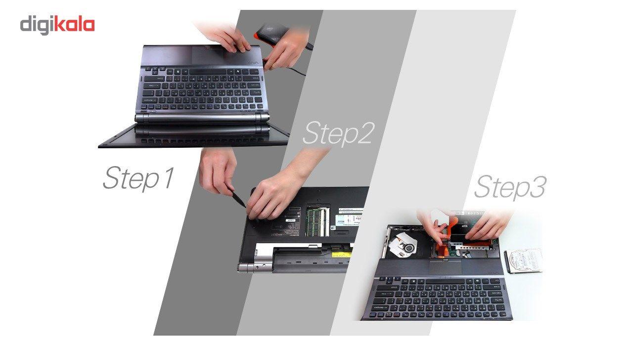 اس اس دی اینترنال SATA3.0 سیلیکون پاور مدل Slim S55 ظرفیت 240 گیگابایت main 1 6