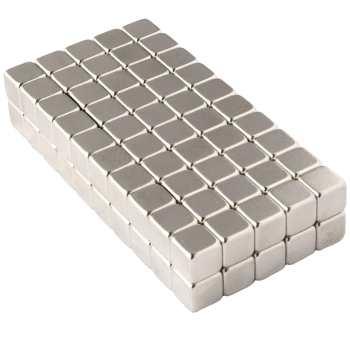 آهن ربا مدل مکعبی 5x5x5 میلی متری بسته صد عددی