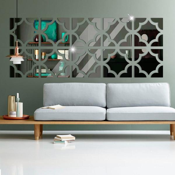 موللتی استایل طرح آینه کارا دیزاین مدل A01 سایز 150x60cm