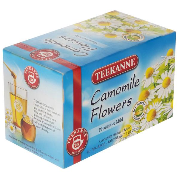 چای کیسه ای تی کانه مدل Camomile Flowers بسته 20 عددی