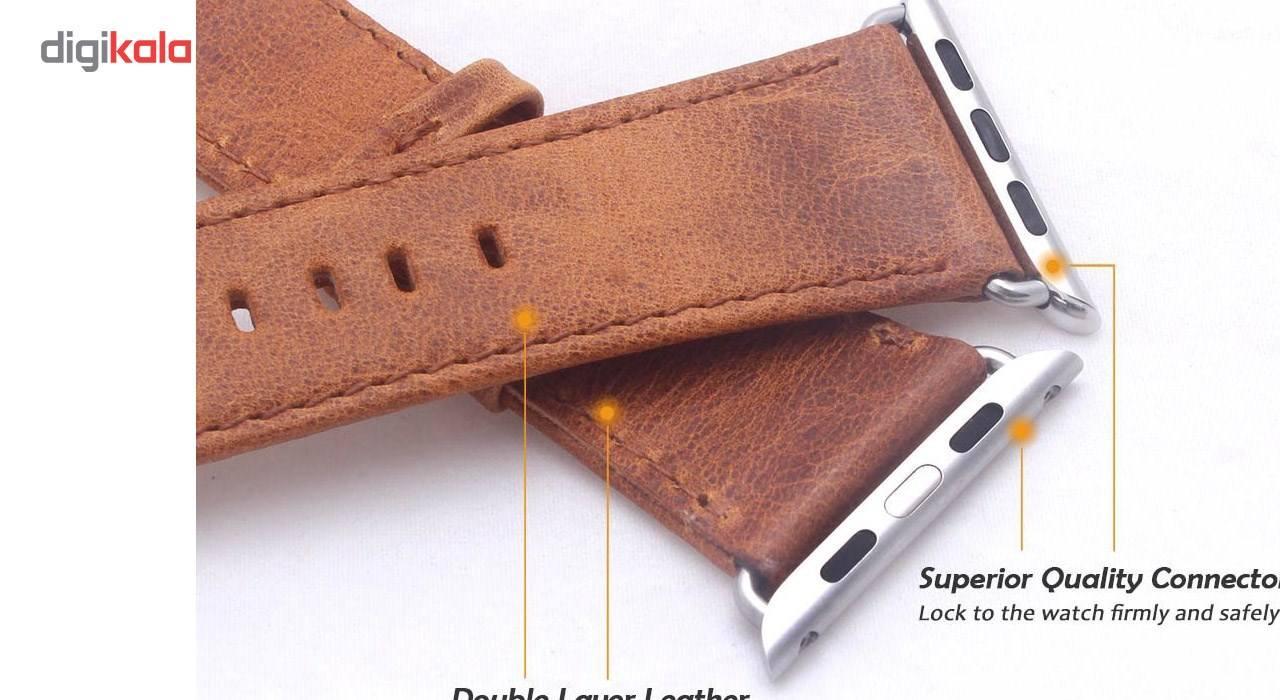 بند چرمی مدل Milanese مناسب برای اپل واچ 42 میلی متری main 1 4