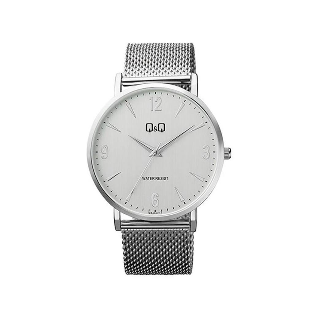ساعت مچی عقربهای مردانه کیو اند کیو مدل QB40J204Y