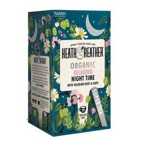 بسته دمنوش هیت و هیتر مدل Organic Relaxing Night Time