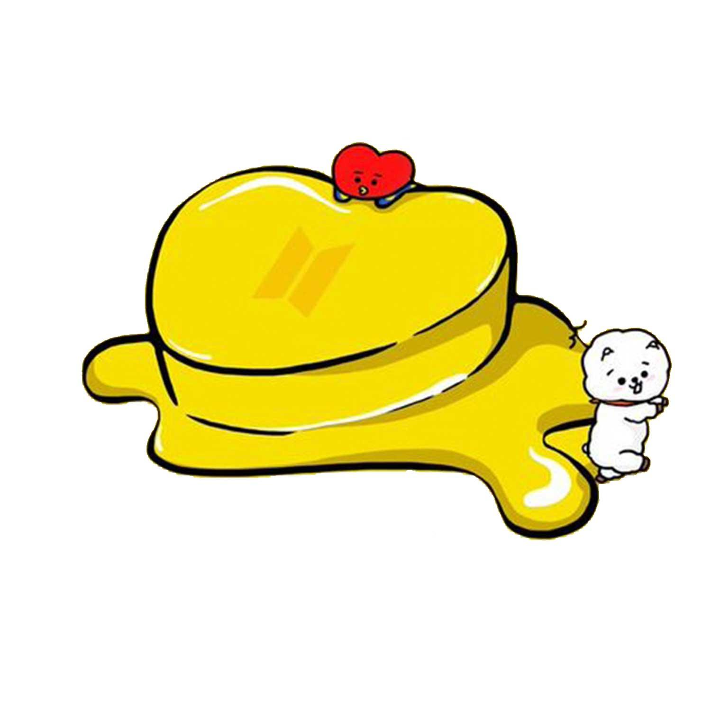 بررسی و {خرید با تخفیف} استیکر لپ تاپ گیم مون طرح Bts Butter کد 111168 اصل