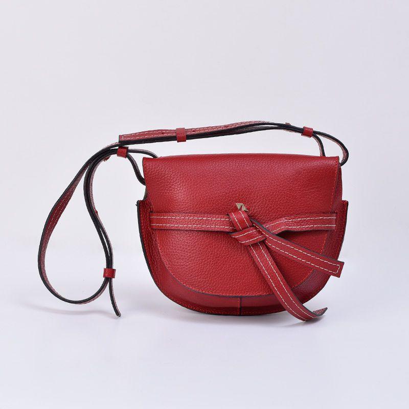 کیف دوشی زنانه چرم مشهد مدل s5141