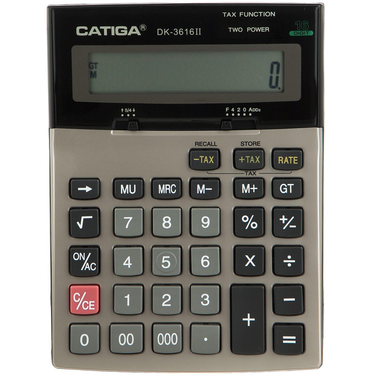 قیمت                      ماشین حساب کاتیگا مدل DK-3616II