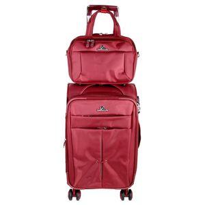 مجموعه دو عددی ساک و چمدان ال سی مدل 8-2-20-4-A173