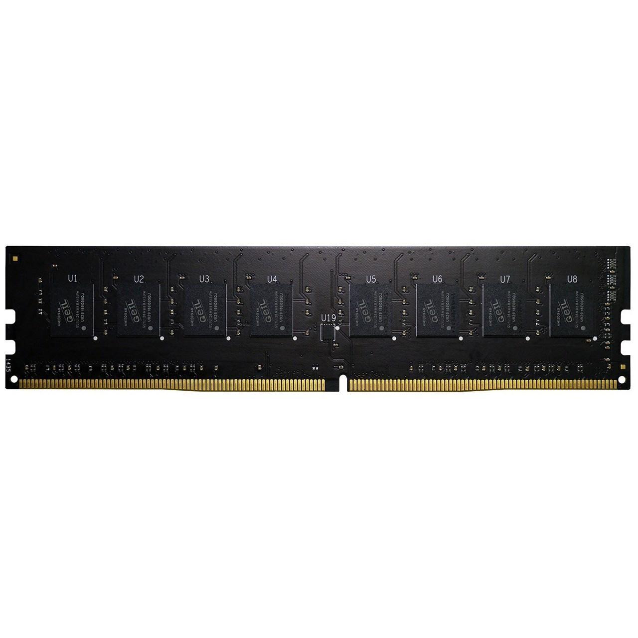 رم دسکتاپ DDR4 تک کاناله 2400 مگاهرتز CL17 گیل مدل Pristine ظرفیت 16 گیگابایت