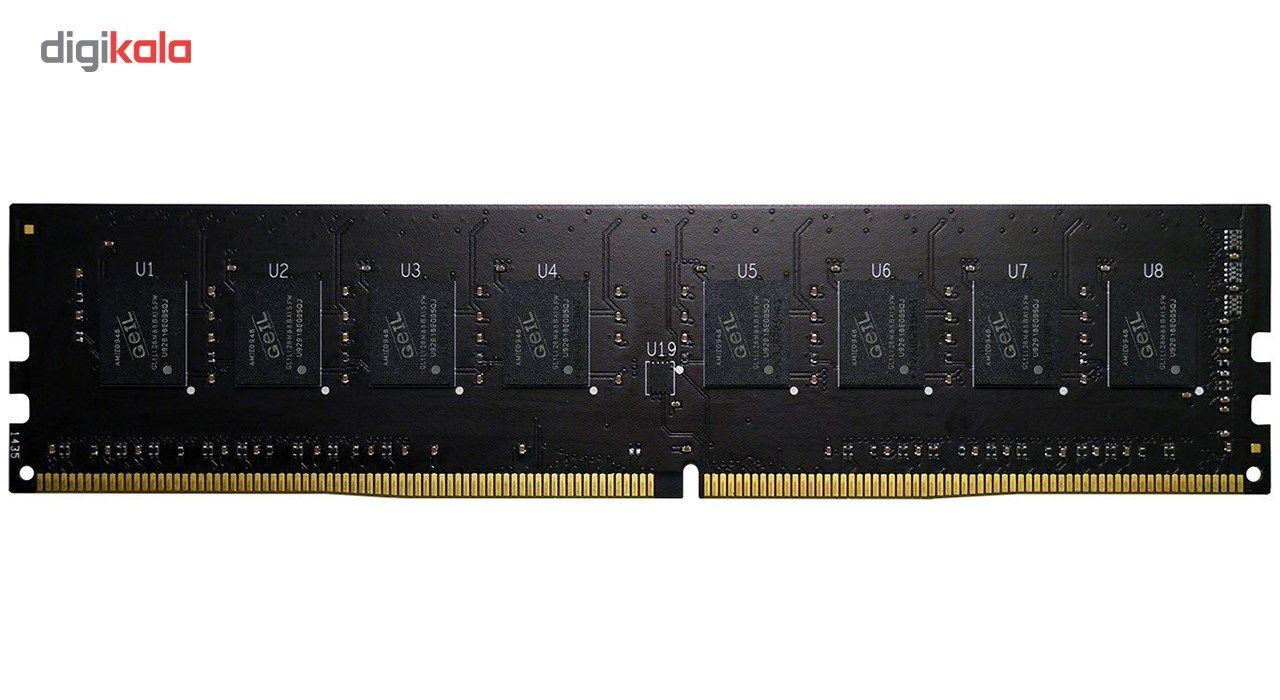رم دسکتاپ DDR4 تک کاناله 2400 مگاهرتز CL17 گیل مدل Pristine ظرفیت 16 گیگابایت main 1 1