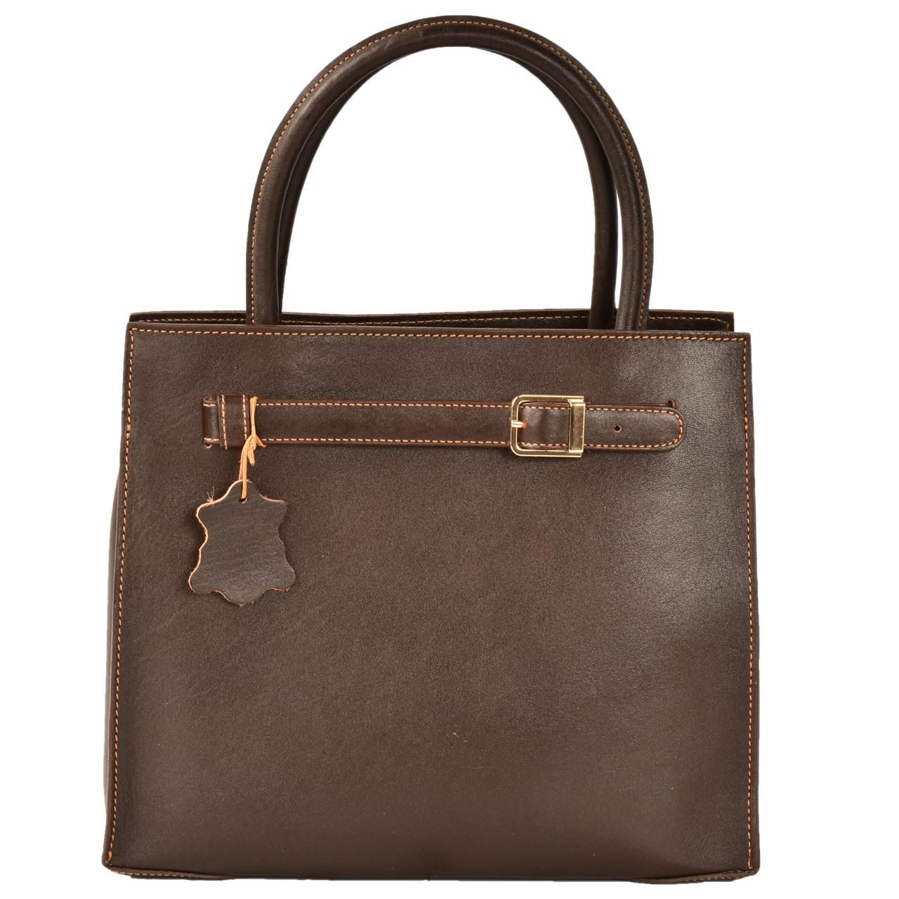 کیف دستی چرم طبیعی کهن چرم مدل V154-7