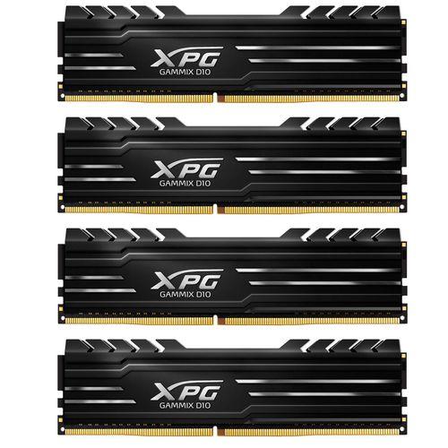 رم کامپیوتر دو کاناله DIMM ای دیتا مدل XPG GAMMIX D10 با فرکانس 2666 مگاهرتز ظرفیت 32 گیگابایت
