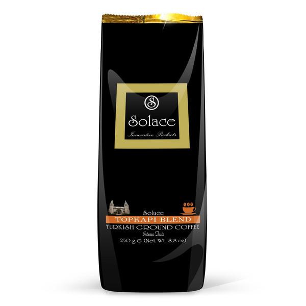 بسته قهوه سولیس مدل TOPKAPI بسته 250 گرمی