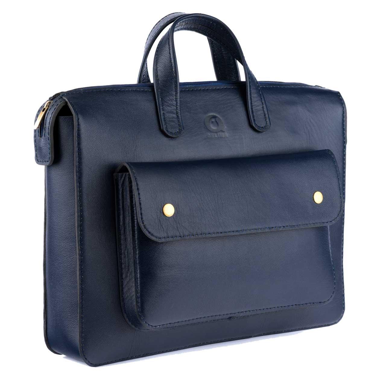 کیف اداری مردانه چرم طبیعی گلیما مدل 236S
