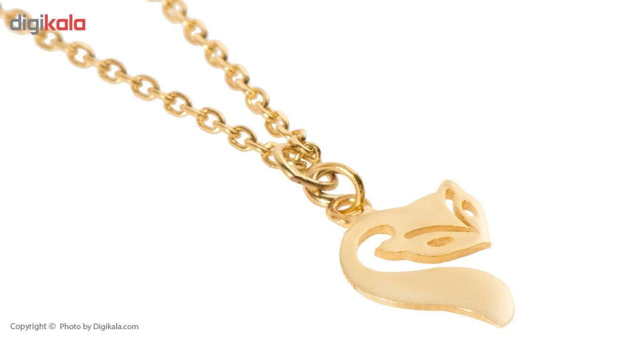 آویز ساعت طلا 18 عیار ماهک مدل MW0039 - مایا ماهک -  - 3
