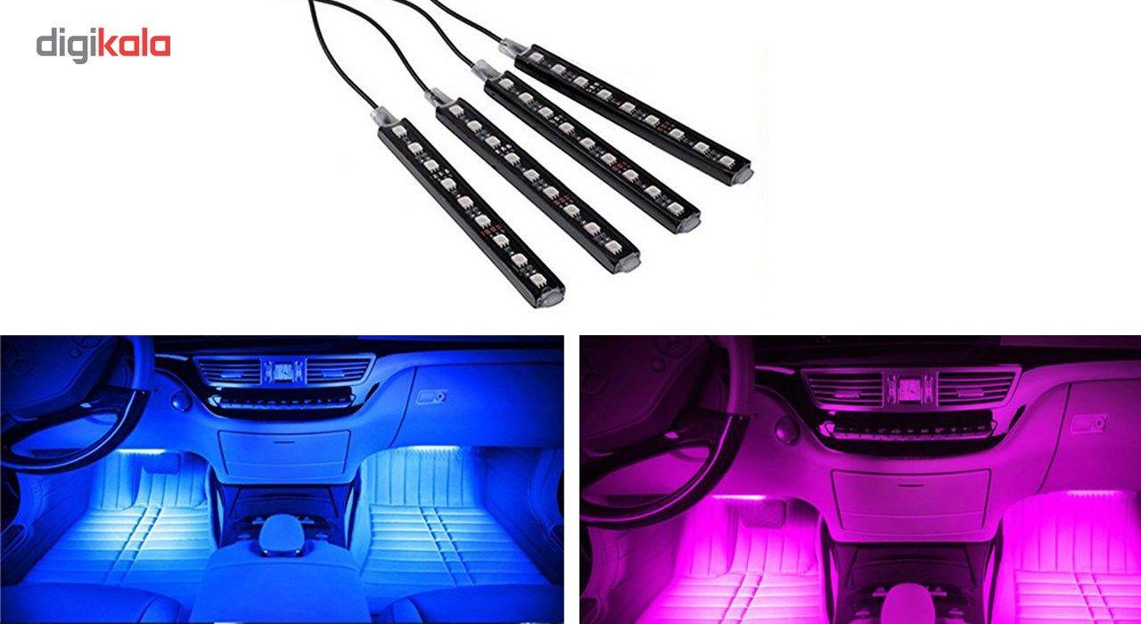 کیت نورپردازی داخل خودرو مدل اتمسفر main 1 2