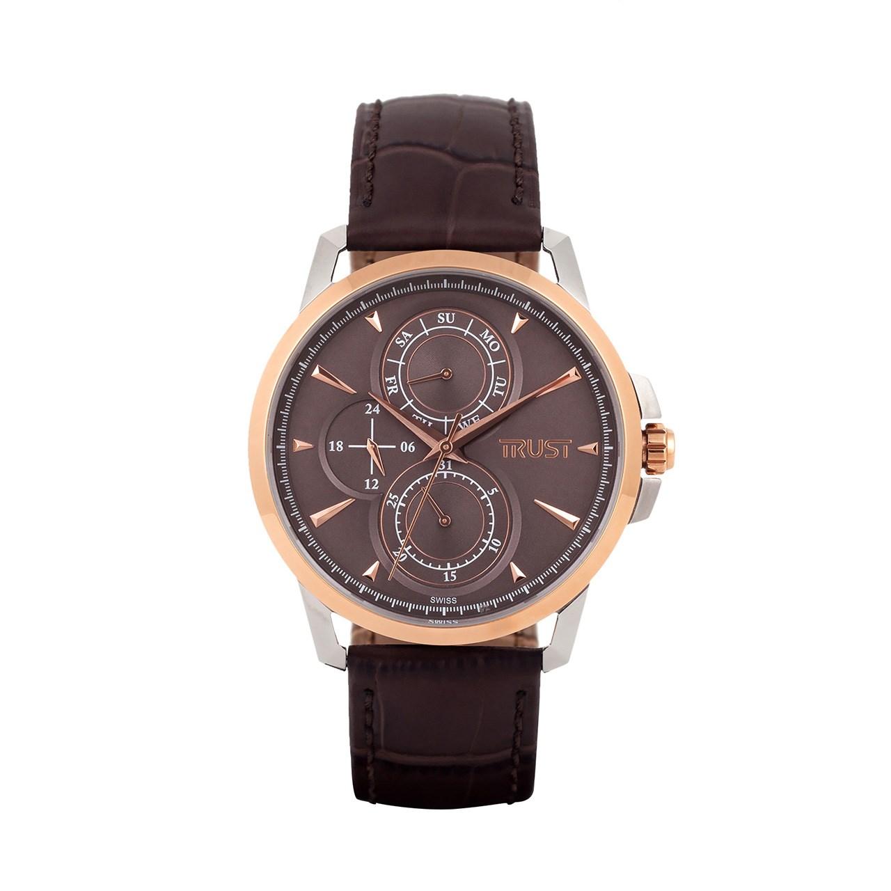 قیمت و خرید                      ساعت مچی عقربه ای مردانه تراست مدل G453JUE