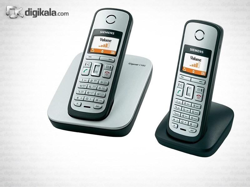 قیمت                      گوشی اضافه بی سیم گیگاست مدل C380 DUO