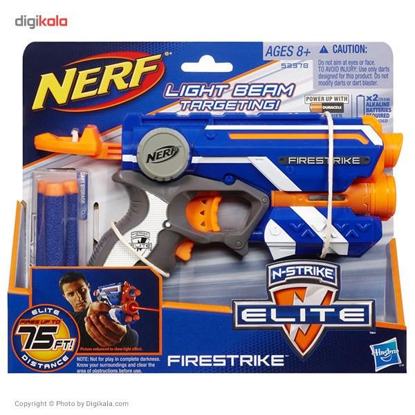 تفنگ نرف مدل فایر استرایک کد 53378  Nerf Firestrike 53378 Gun