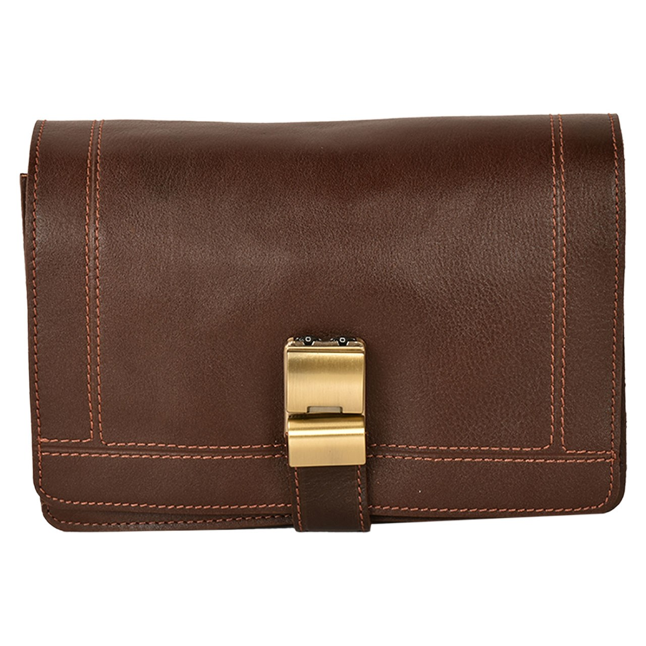 کیف دستی چرم طبیعی کهن چرم مدل DB17-7