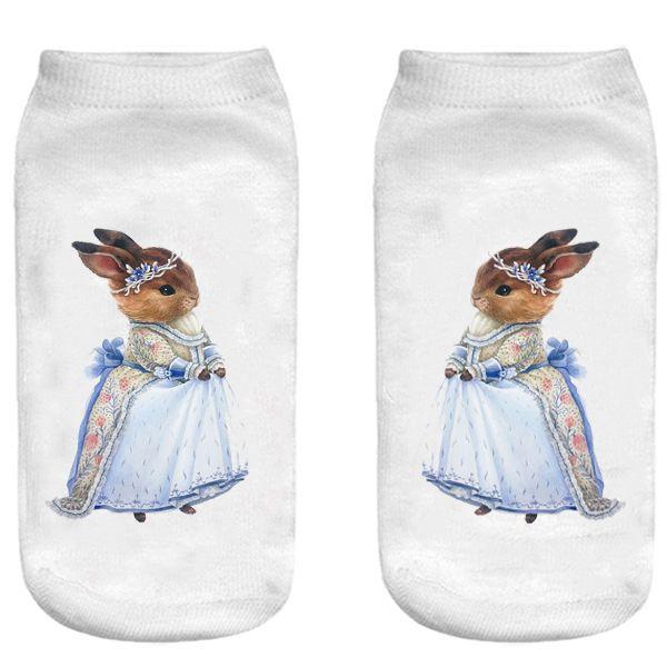 جوراب بچگانه طرح خانم خرگوشه کد o42