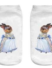 جوراب بچگانه طرح خانم خرگوشه کد o42 -  - 2
