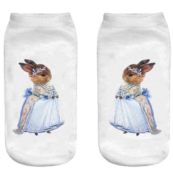 جوراب بچگانه طرح خانم خرگوشه کد o42 -  - 3