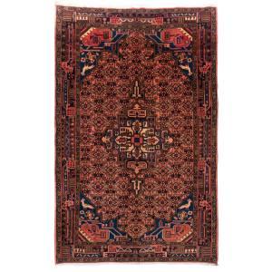 فرش دستبافت قدیمی چهار متری سی پرشیا کد 102188