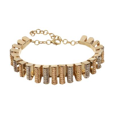 تصویر دستبند طلا 18 عیار زنانه گالری یار طلا کد DSA01