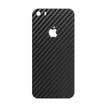 برچسب پوششی ماهوت مدل Carbon-fiber Texture مناسب برای گوشی  iPhone 5S-SE